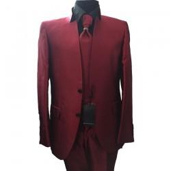 Costum elegant rosu